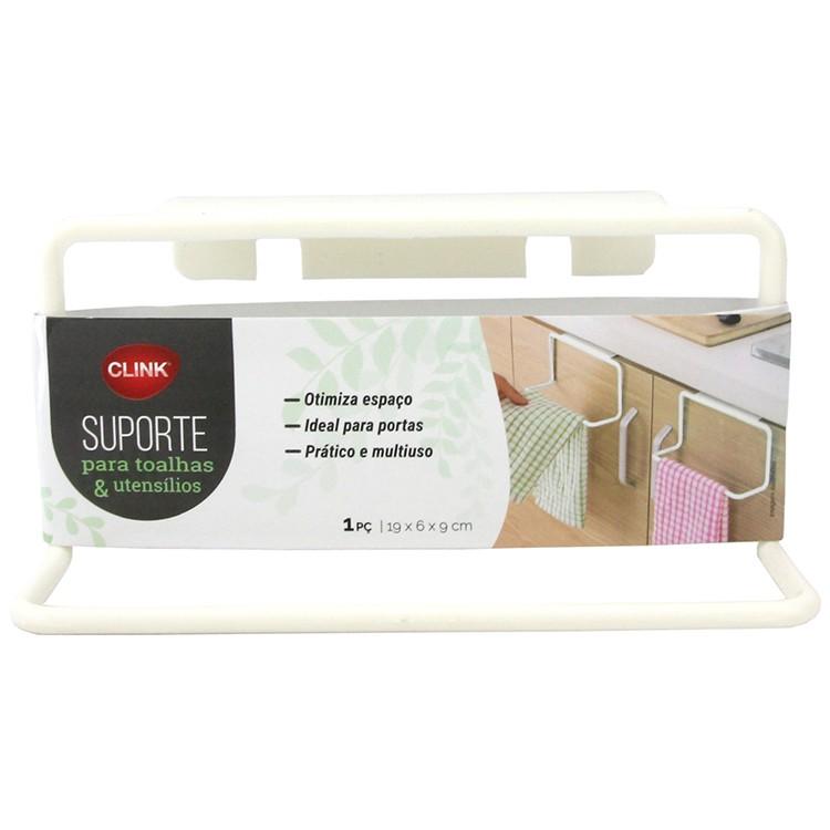 Suporte para Toalha de Plastico Branco CK3286 - Clink