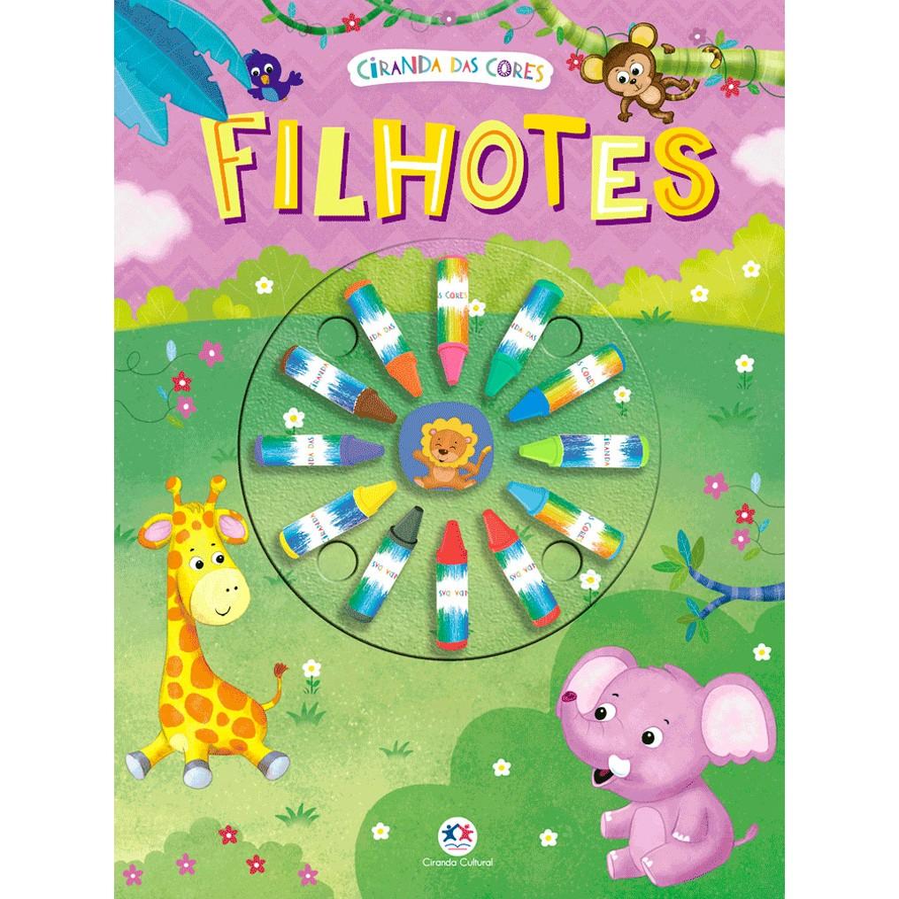 Livro Filhotes Colorir - Ciranda Cultural