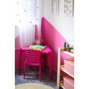 Mesa Infantil de Plástico Triangular Sofia Rosa - Tramontina
