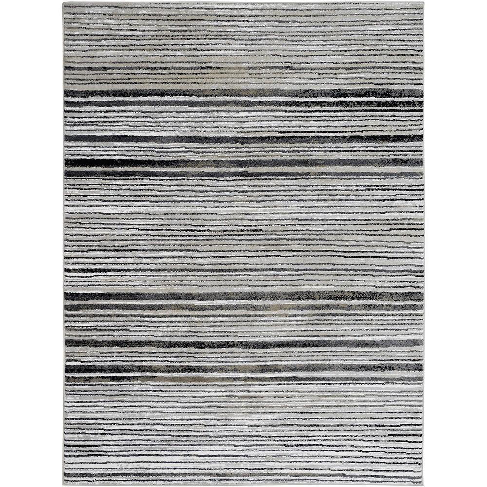 Tapete Jacquard 150x200 cm Branco Santorini 1802 - Sao Carlos