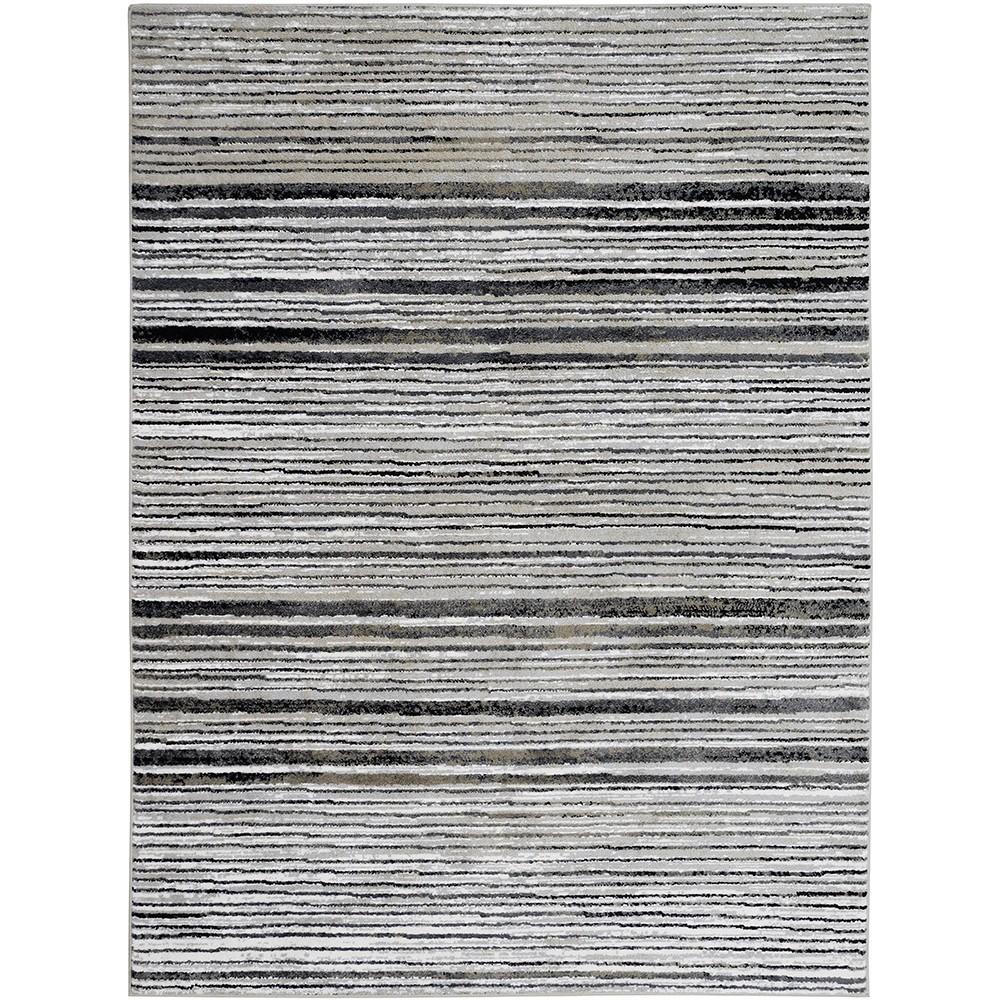 Tapete Jacquard 200x250 cm Branco Santorini 1802 - Sao Carlos