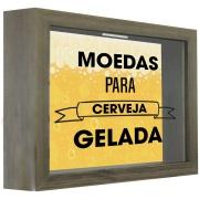Quadro Decorativo 22x27 cm Porta-Tampa 72301 - Kapos