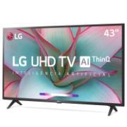 "Smart TV LED 43"" LG 4K/Ultra HD 43UN7300 Bluetooth HDR ThinQ AI Ultra Surround - 3 HDMI 2 USB"