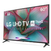 "Smart TV LG 60"" 4K UHD 60UN7310 WiFi Bluetooth HDR Inteligência Artificial ThinQ Smart Magic Google Alexa"