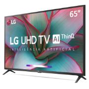 "Smart TV LED 65"" LG 4K/Ultra HD 65UN7310 Bluetooth HDR Inteligência Artificial ThinQ AI Google Assistente Alexa - 4 HDMI 2 USB"