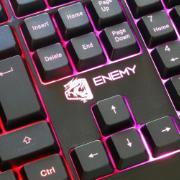 Teclado USB Gamer Enemy com Fio Preto - ELG