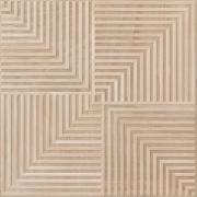 Porcelanato Eliane Sonar Camel 59x59cm Esmaltado Acetinado 1,39m² com Acabamento Lateral Retificado