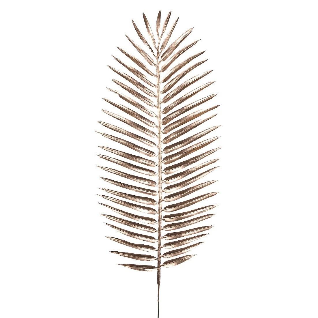 Haste de Natal Folhas Palmeira 46cm