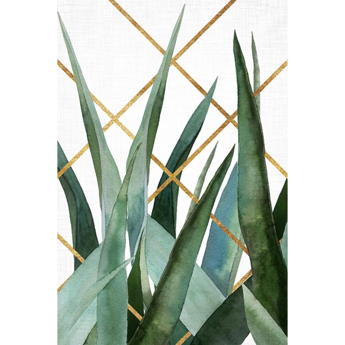 Quadro Decorativo 40x60 cm Folha Espada - Jolie
