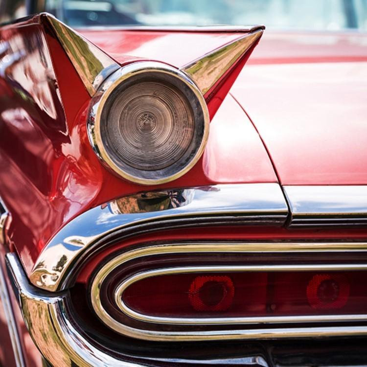 Quadro Decorativo 50x50 cm Carro - Jolie