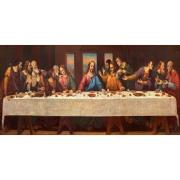 Quadro Decorativo em Canvas 50x100 cm Santa Ceia - Jolie