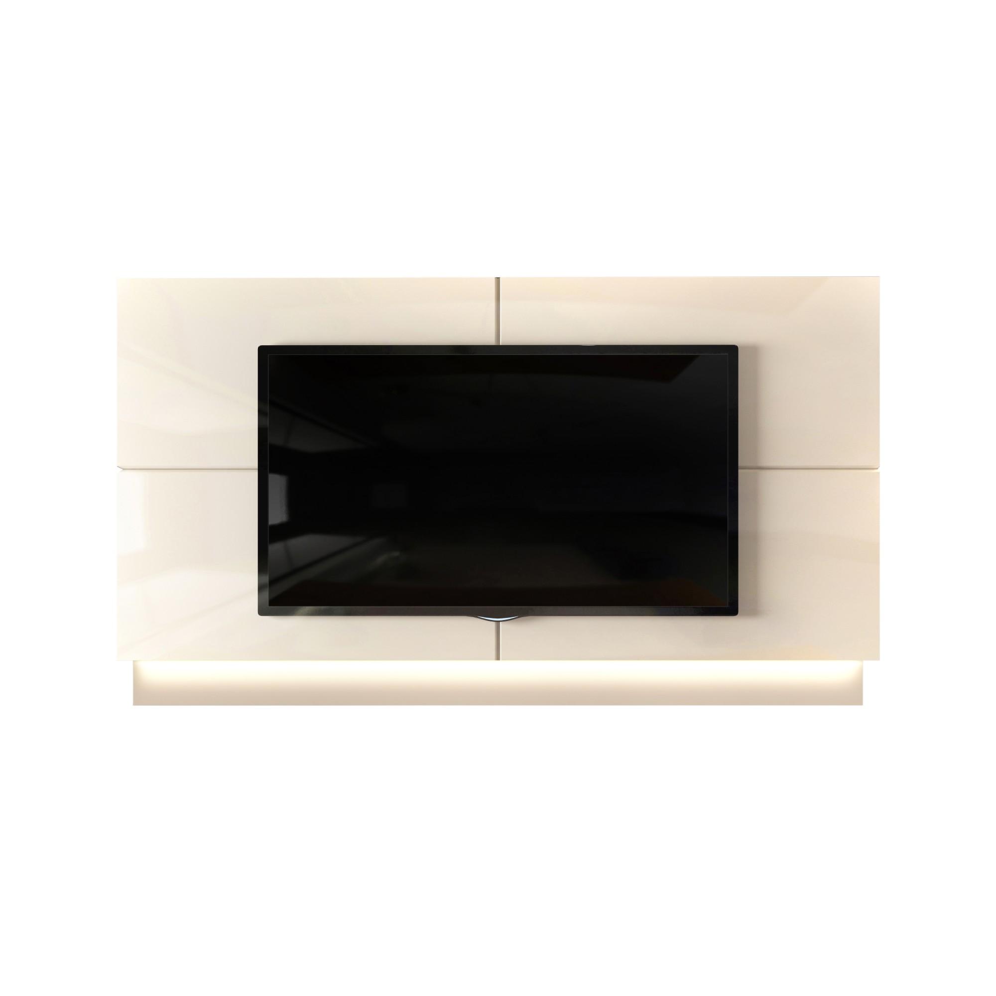 Painel para TV Domani 240cm Off-white - Dj Moveis