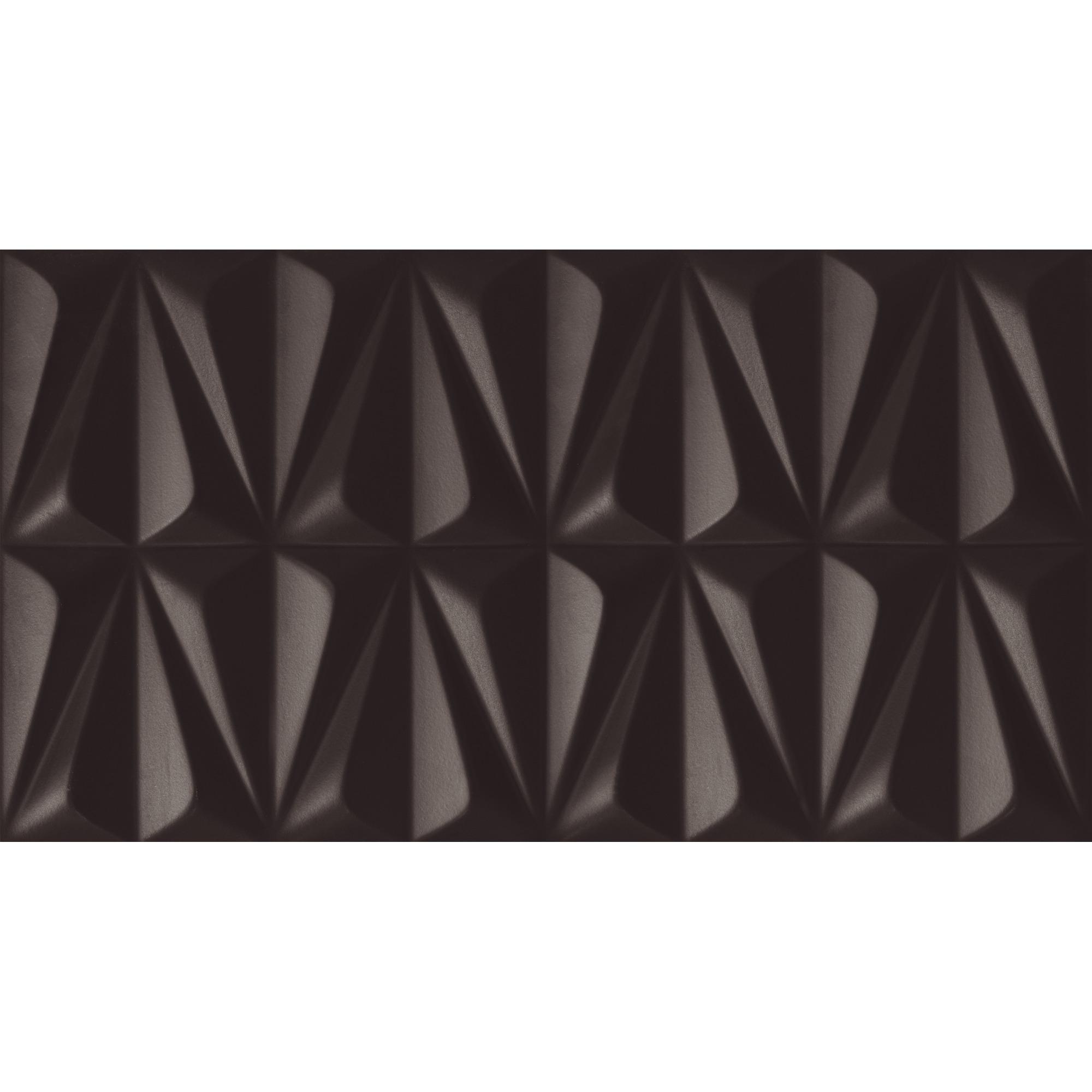 Revestimento Incepa Tipo A Ludo Black 32x59 cm Brilhante Bold