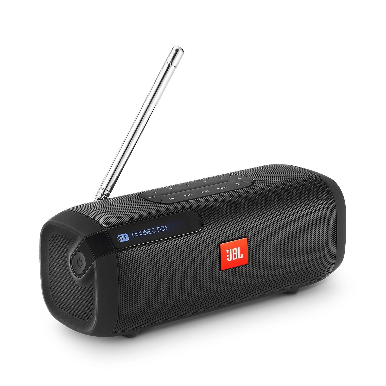 Caixa de Som Bluetooth JBL Tunner P2FM Preto 1500 mAh - 913027