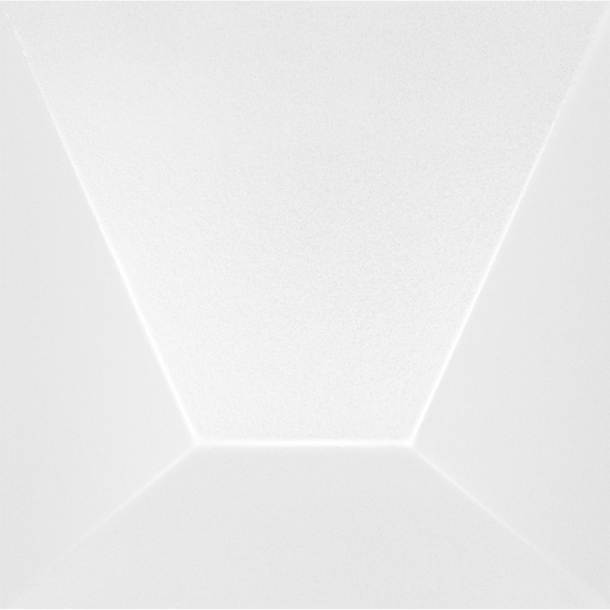 Revestimento Roca Tipo A 154x154 cm Acetinado Block White 043m - Branco Fosco