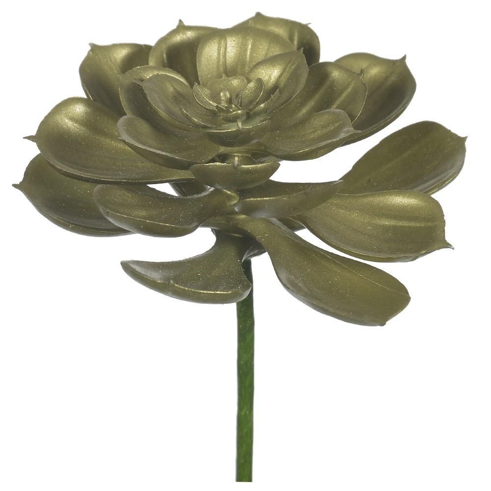 Haste de Natal Flor Artificial Suculenta 11cm - Dea
