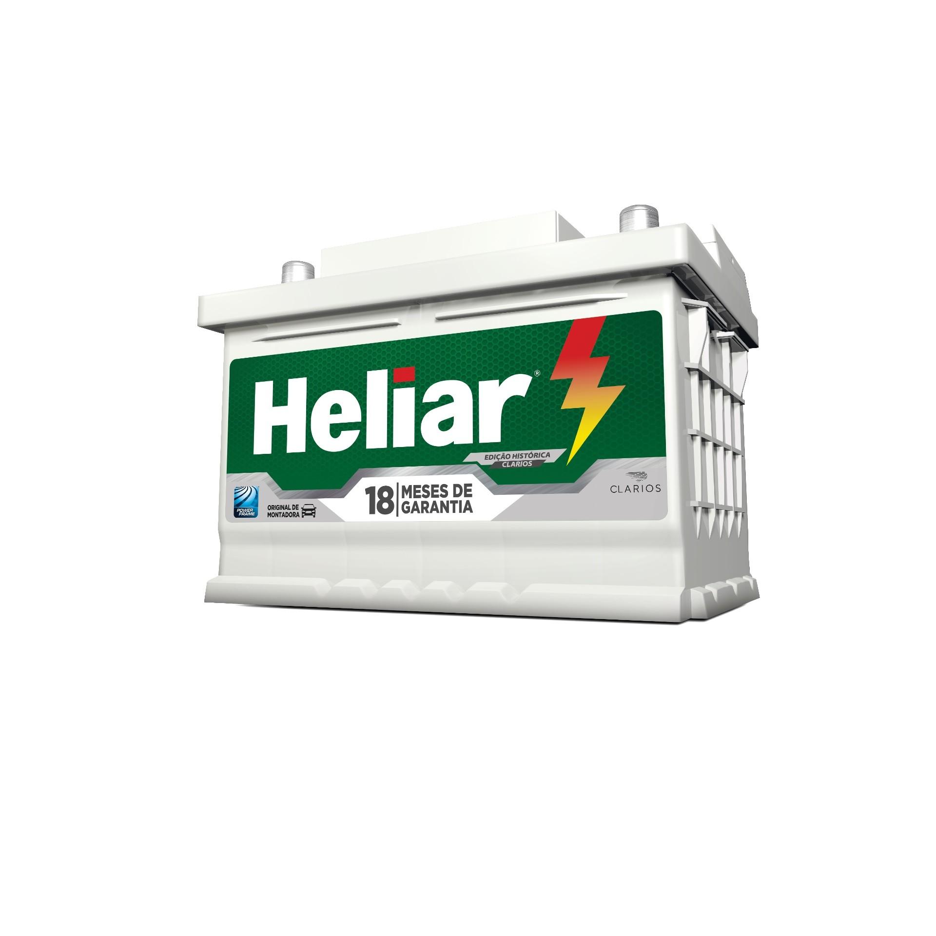 Bateria Automotiva 12V 60Ah Polo Positivo Direito HNP60DD - Heliar
