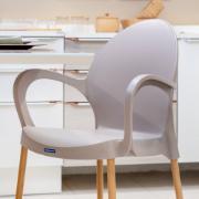 Cadeira de Polipropileno Camurça Grace Linheiro Tramontina