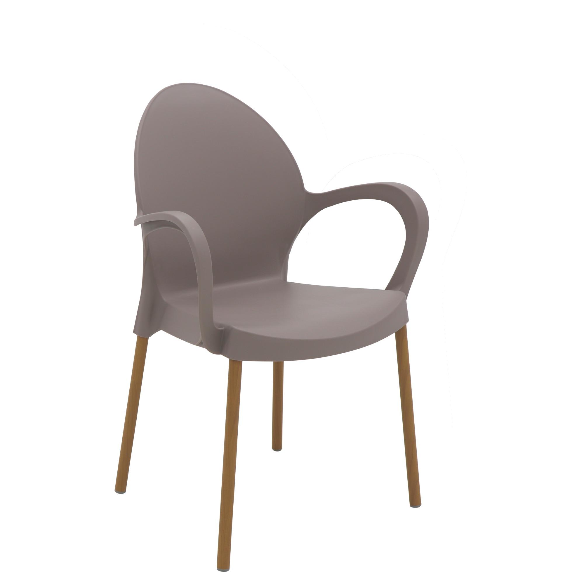 Cadeira de Polipropileno Camurca Grace Linheiro Tramontina