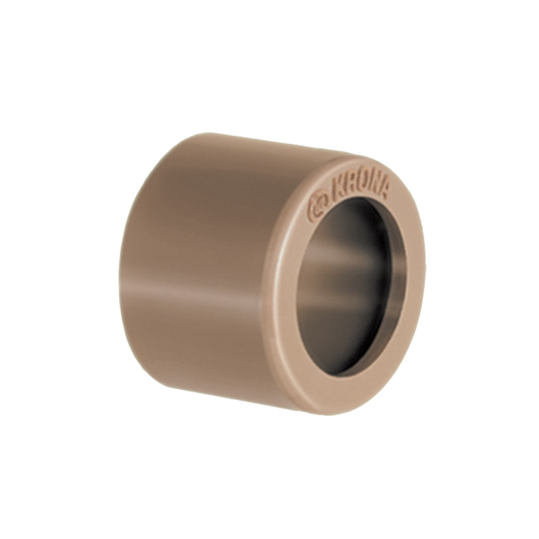 Bucha Curta Simples Soldavel PVC 75mm - Krona