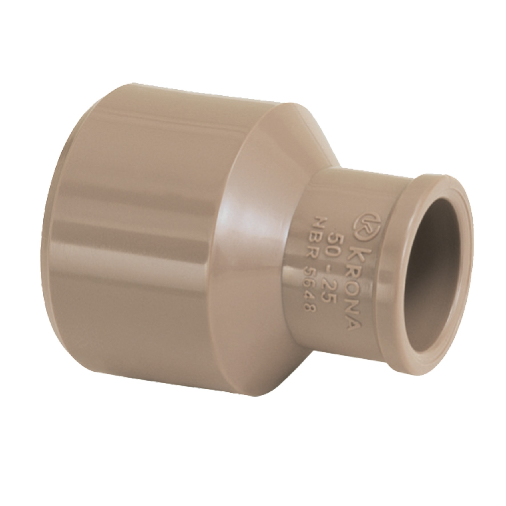 Bucha Longa Simples Soldavel PVC 40mm - Krona