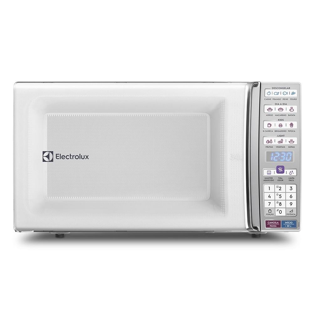 Micro-ondas Electrolux 34L Branco MEO44 1500W - 947005139 220V