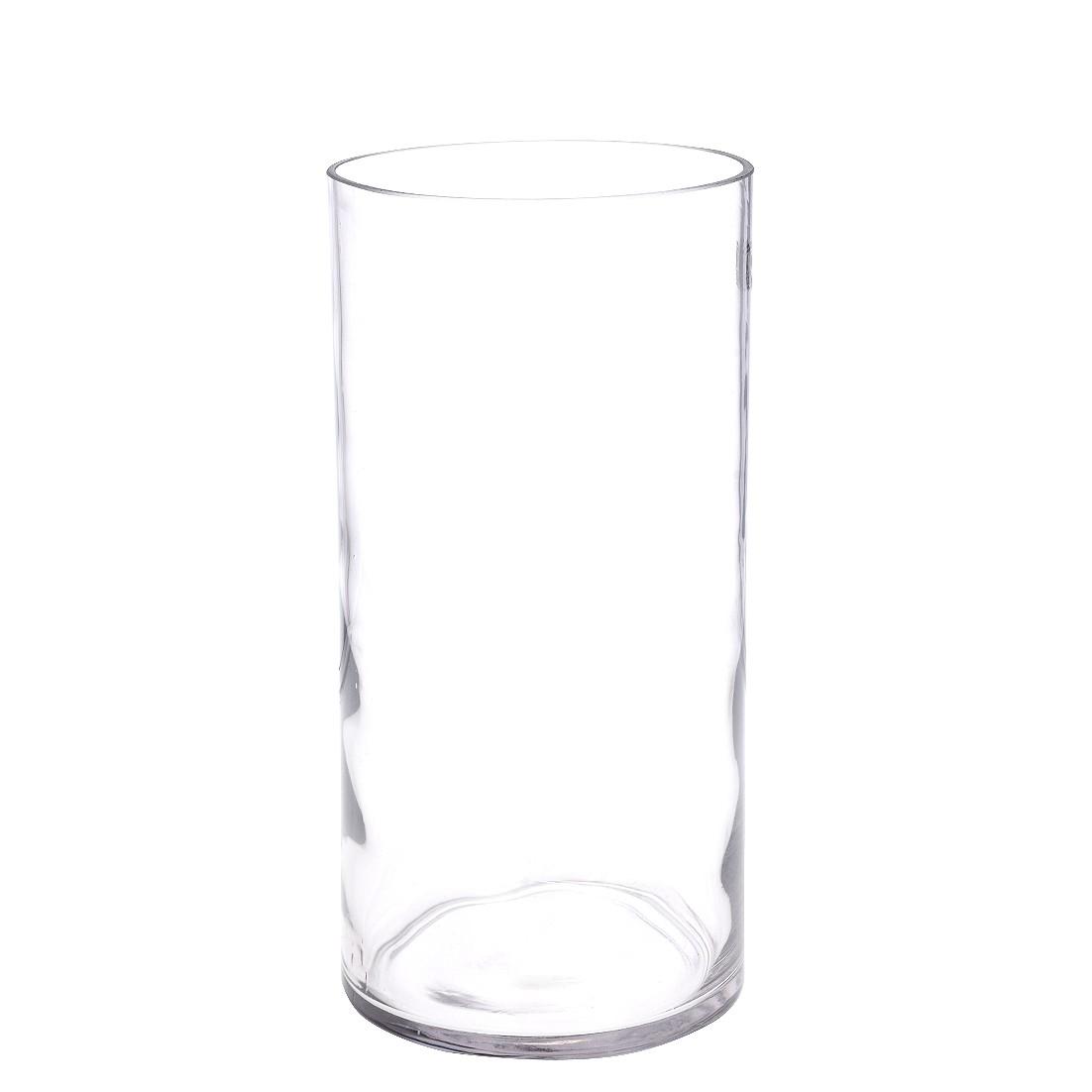 Vaso Decorativo de Vidro Redondo 295 cm Transparente - GPresentes