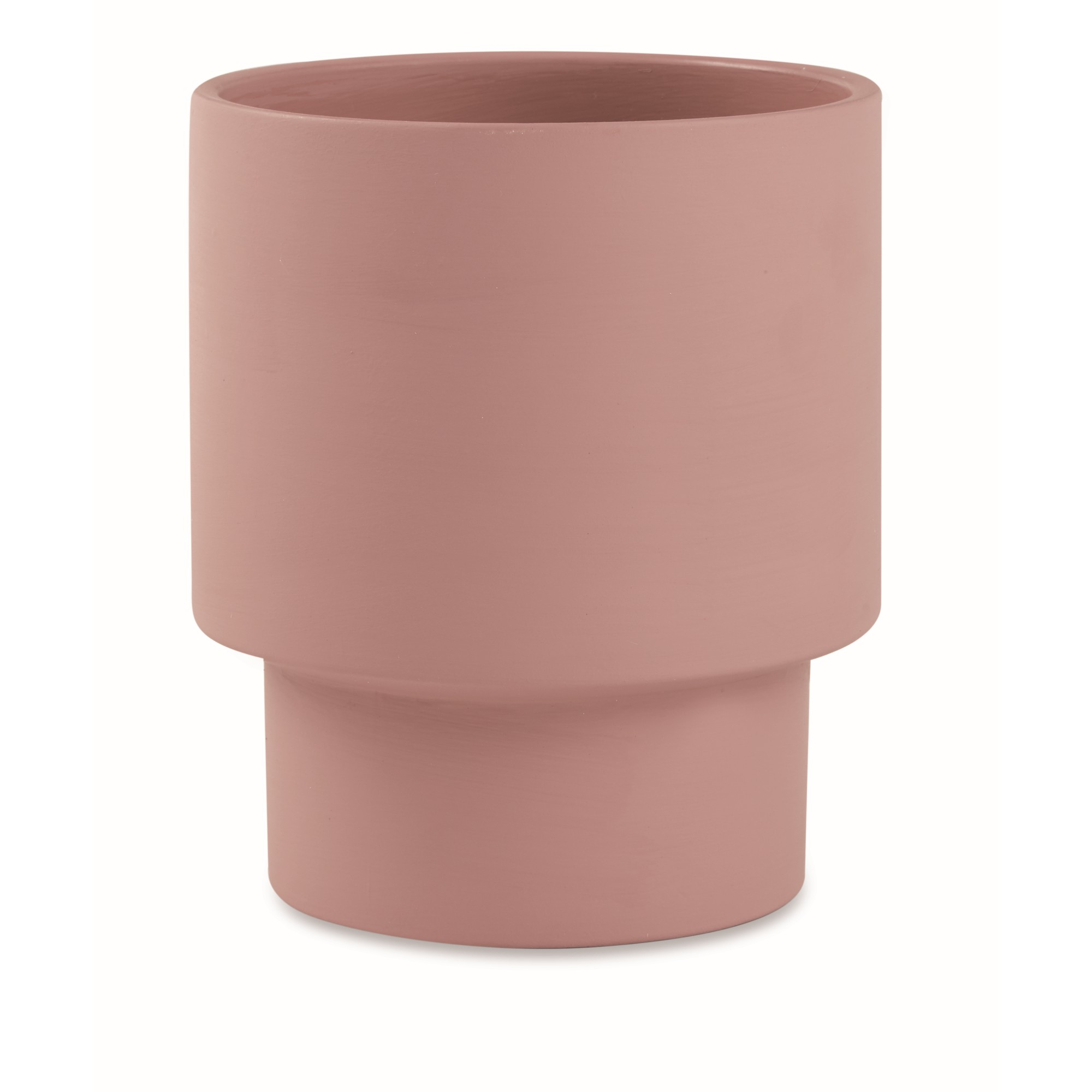 Cachepot Cimento Rose 195x17 cm 12322 - Mart Decor