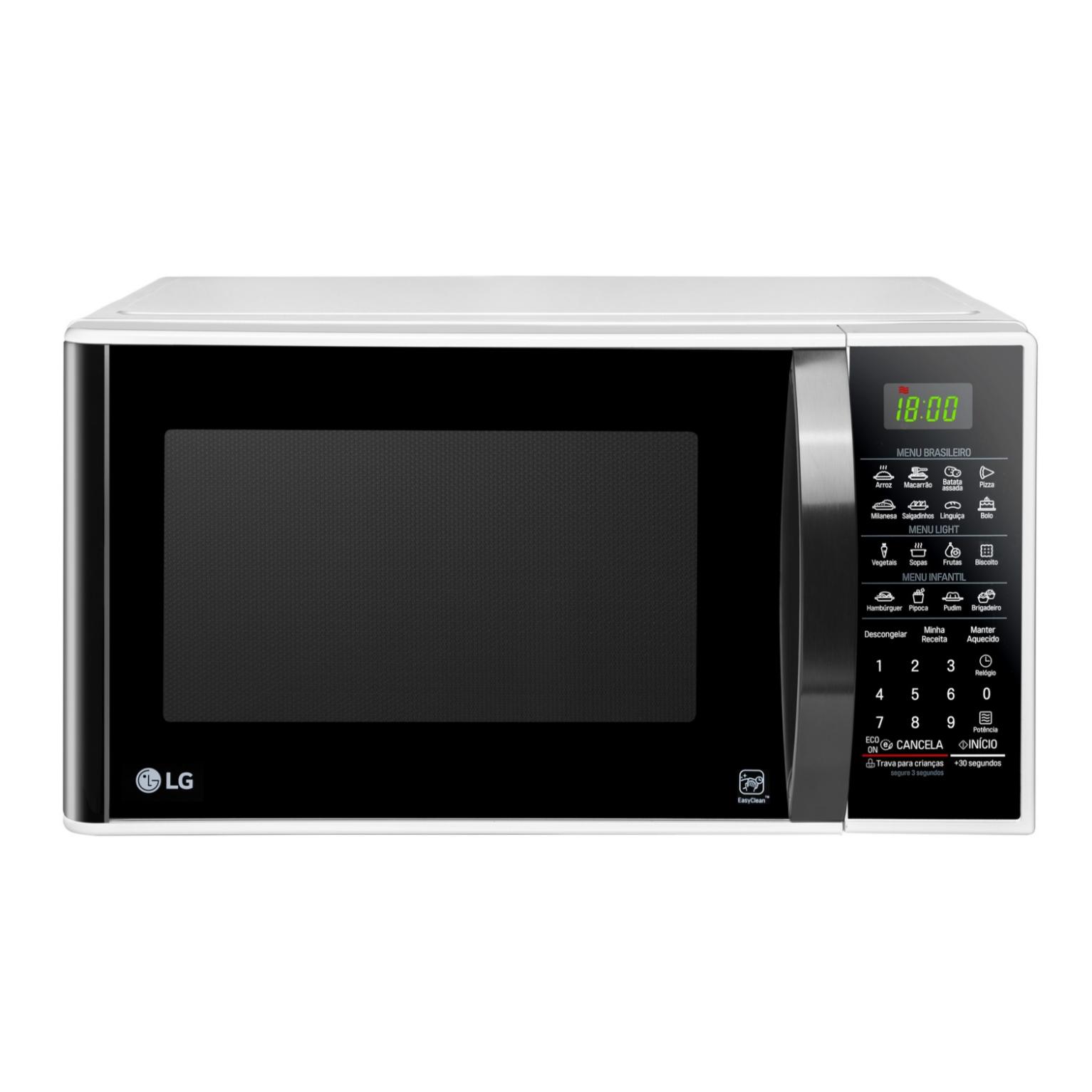 Micro-ondas LG 30L MS3091 800W Branco - 220V