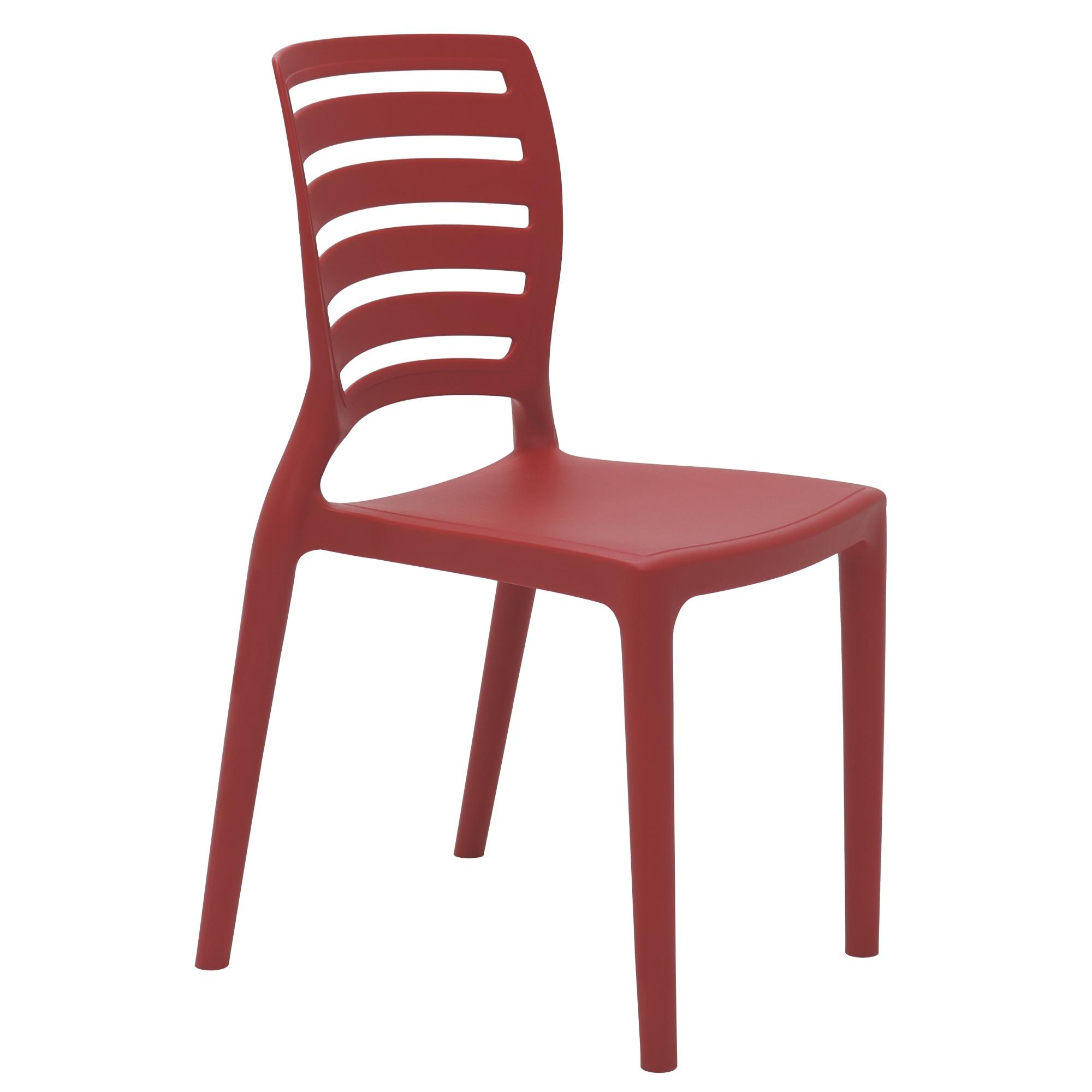 Cadeira Infantil Sofia Vermelha - Tramontina