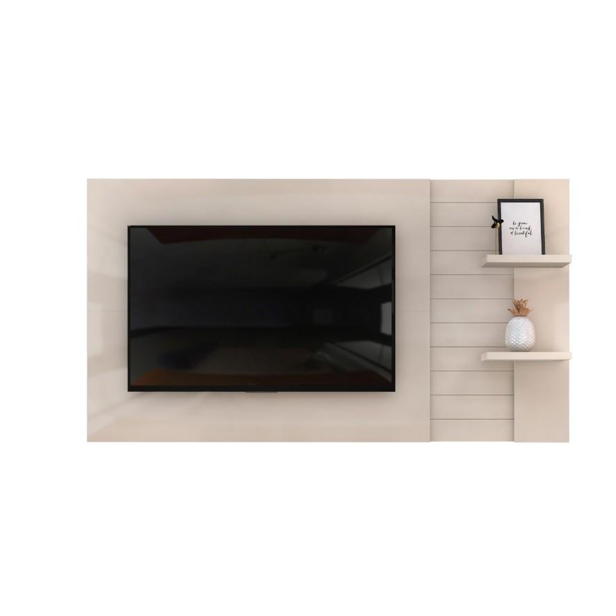 Painel para TV Dante Extensivel 180cm Off-white - Dj Moveis