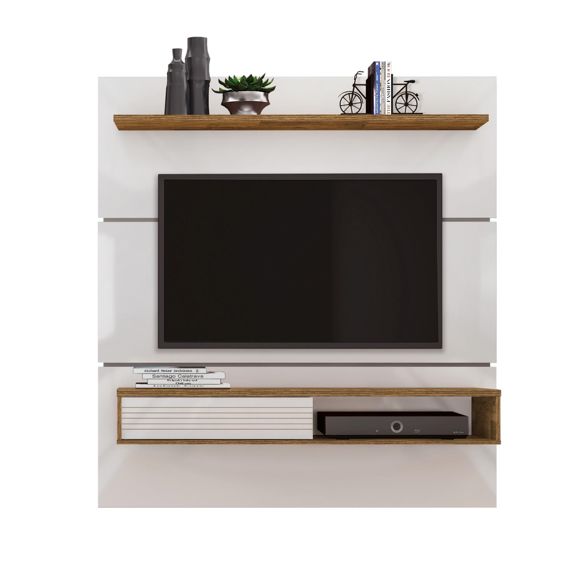 Painel para TV Santorini 152cm Off-white - Dj Moveis