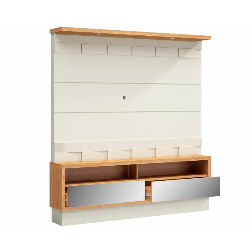 Estante Home MDF 180cm Off-white - Dalla Costa