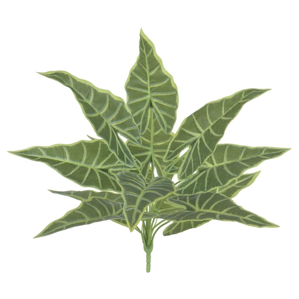 Folhagem Artificial Alocasia Verde 42 cm - Dea