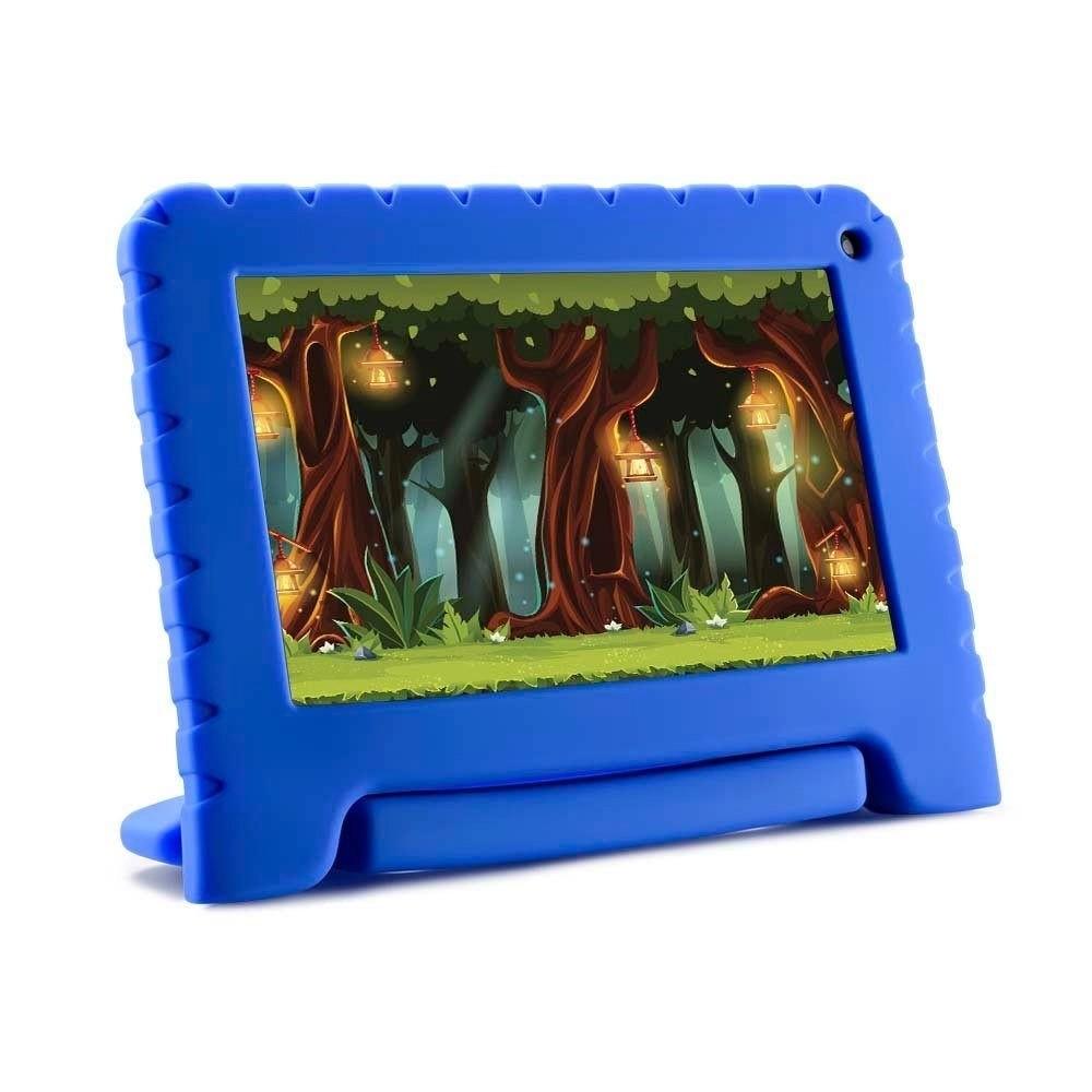 Tablet Multilaser Kid Pad Lite 7 NB302 Quad-core 3G 16GB Azul