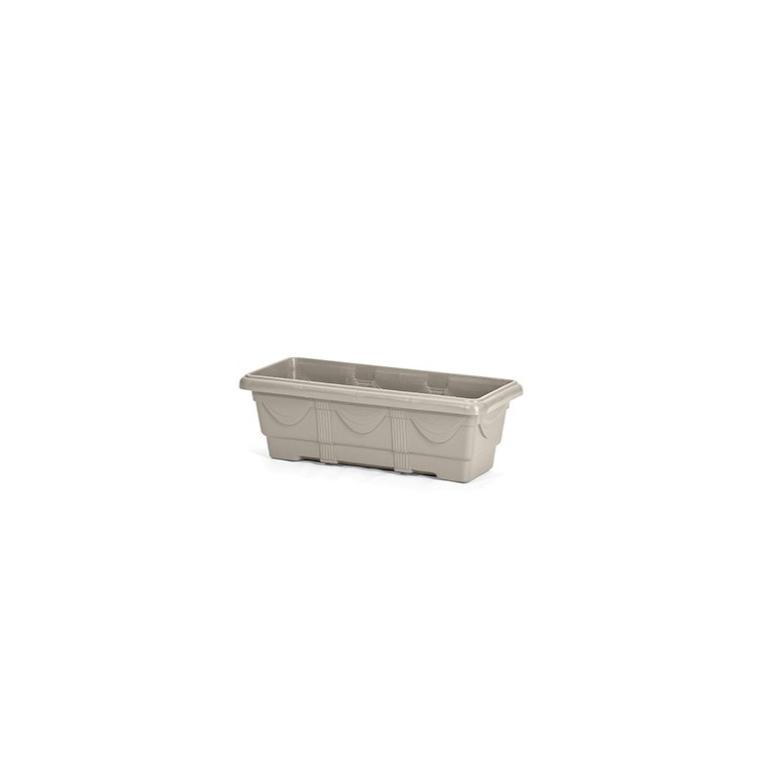Jardineira de Plastico Capuccino 35 cm - Nutriplan