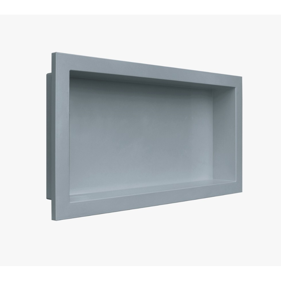 Nicho para Embutir 30 x 60 cm Cinza - Arquitech
