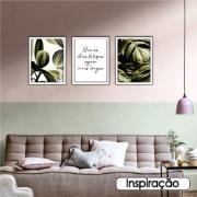 Quadro Decorativo 30x40 cm Folhagem - Art Frame