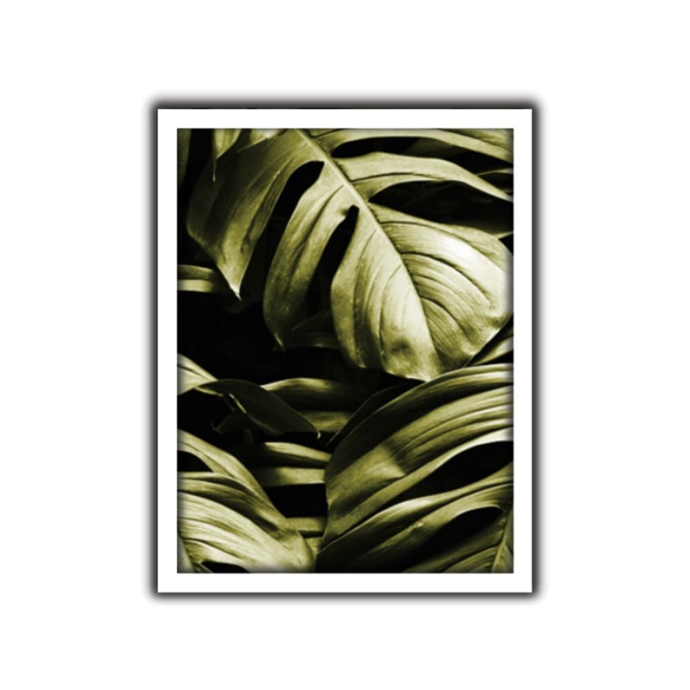 Quadro Decorativo 30x40 cm Folhagem 9063 - Art Frame