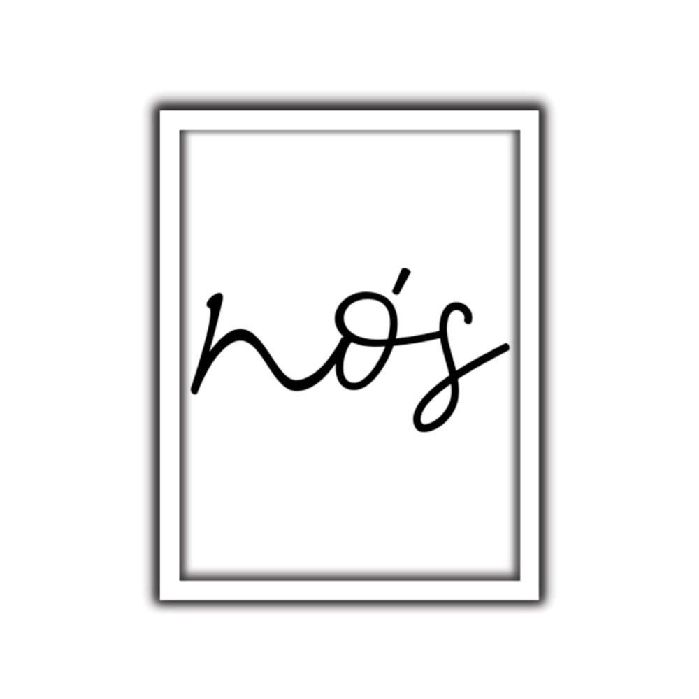 Quadro Decorativo Nos 30x40 cm - Art Frame