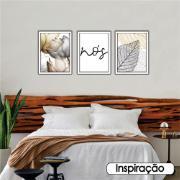 Quadro Decorativo Nós 30x40 cm - Art Frame