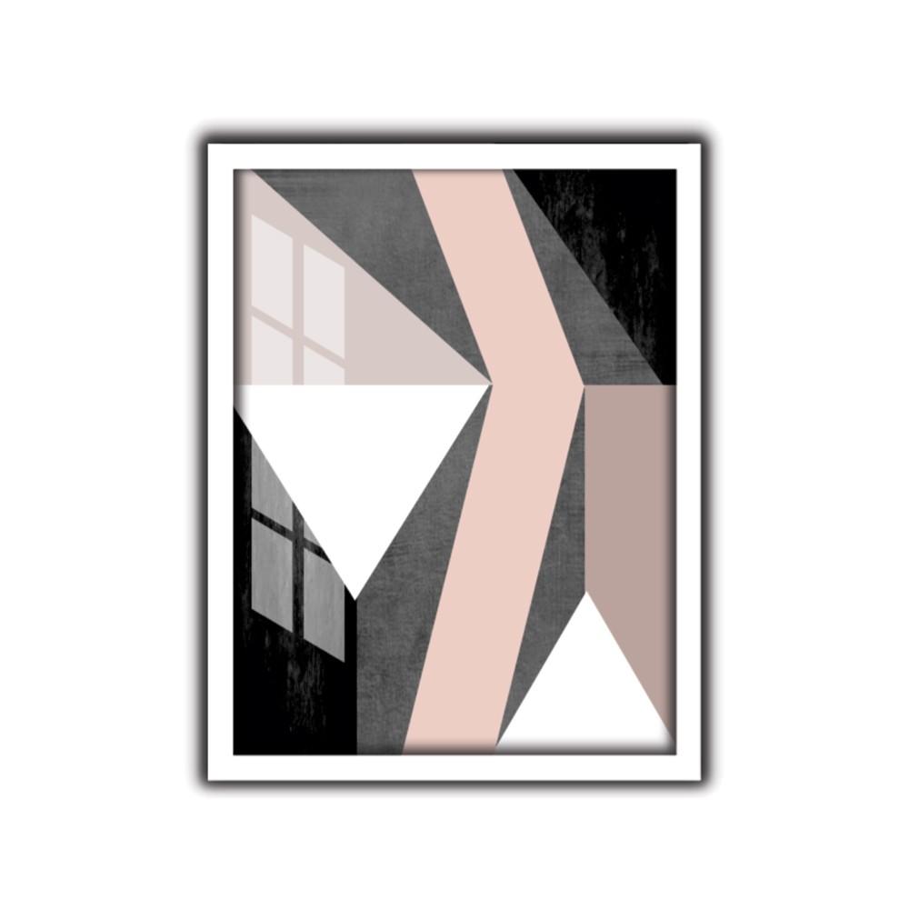 Quadro Decorativo 30x40 cm Geometrico 9067 - Art Frame