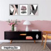 Quadro Decorativo 30x40 cm Geométrico 906/7 - Art Frame