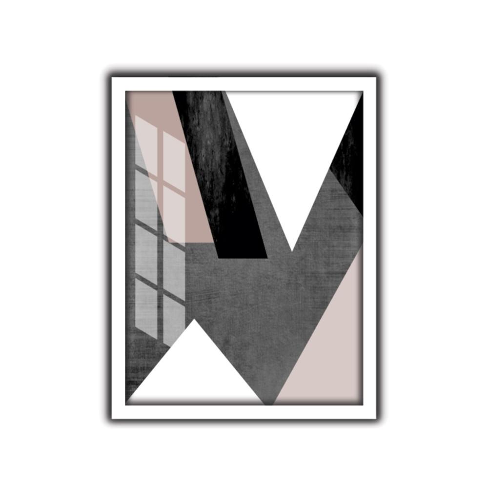 Quadro Decorativo 30x40 cm Geometrico 9069 - Art Frame