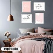 Quadro Decorativo 30x40 cm Irradie Amor - Art Frame