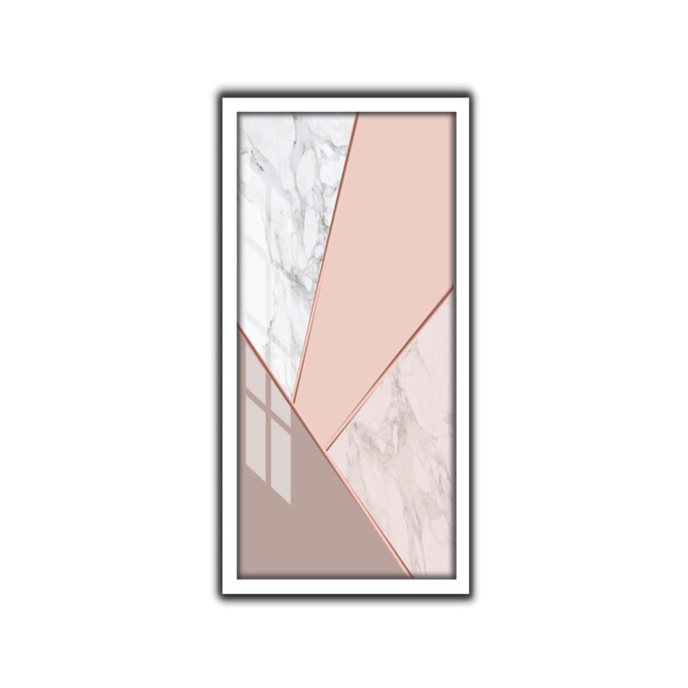 Quadro Decorativo 33x70 cm Geometrico 9071 - Art Frame