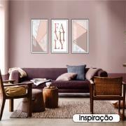 Quadro Decorativo 33x70 cm Geométrico 907/1 - Art Frame