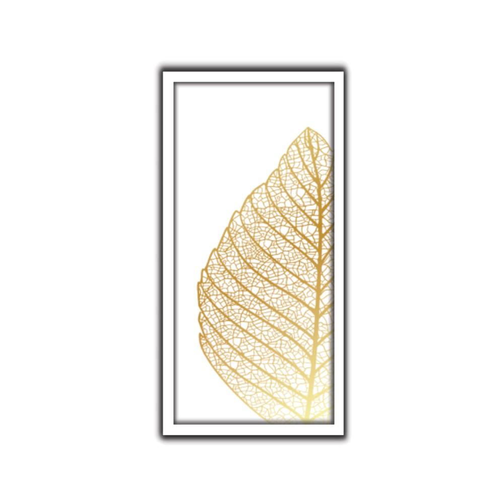 Quadro Decorativo 33x70 cm Folhagem 90714 - Art Frame