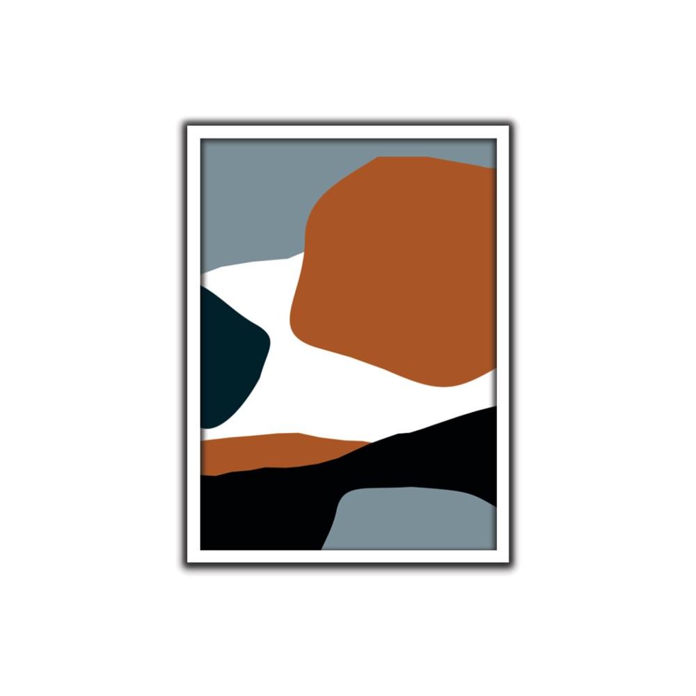 Quadro Decorativo 50x70 cm Geometrico 9086 - Art Frame