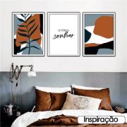 Quadro Decorativo 50x70 cm Geométrico 908/6 - Art Frame